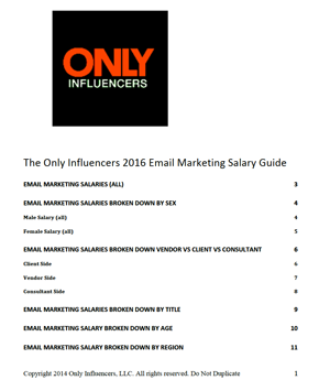 2016 email salary guide cover