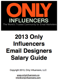 Download the 2013 Email Designer's Salary Guide