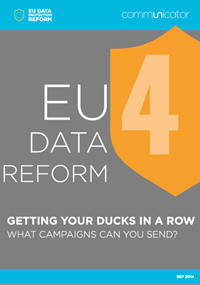 EU Data Reform: What campaigns can you send?