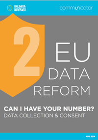 EU Data Reform: Data collection & consent